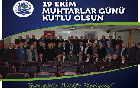 Başkan Sarıalioğlu'ndan Muhtarlar Günü Mesajı