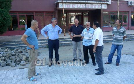 Başkan Sarıalioğlu'ndan sorunlara yerinde tespit
