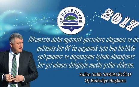 Başkan Sarıalioğlu'ndan yeni yıl mesajı