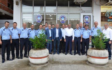 Başkan Sarıalioğlu'ndan Zabıta personeline kutlama