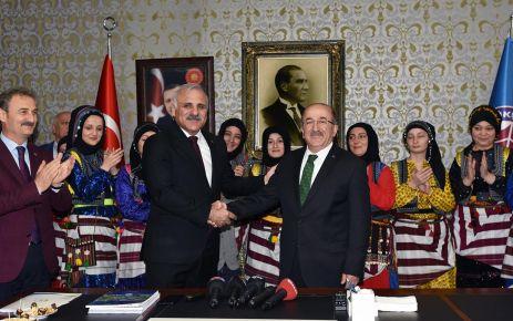 """Başkan Zorluoğlu: """"Bugün benim ve şehrim için özel bir gün"""""""