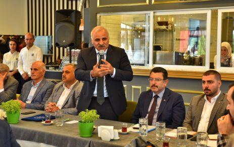 Başkan Zorluoğlu, mahalle muhtarlarıyla buluştu