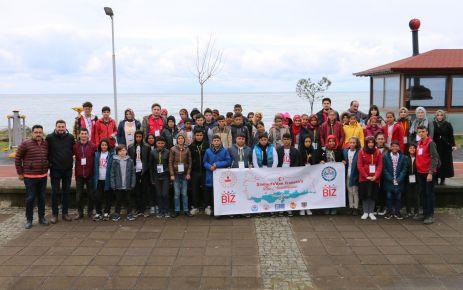Biz Anadoluyuz projesiyle Şanlıurfalı  40 öğrenci Of'ta ağırlandı