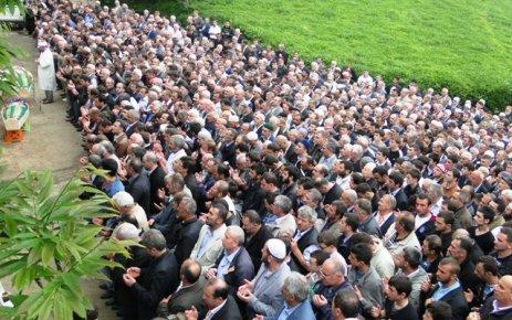 Bölümlü'de cenazeler toprağa verildi