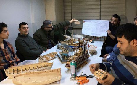 Büyükşehir Belediyesi model gemi kursu