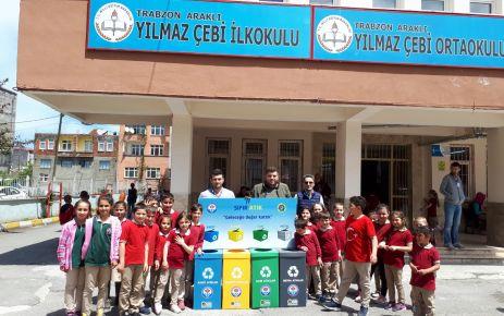 Büyükşehir, sıfır atık projesini ilkokullarda anlatıyor