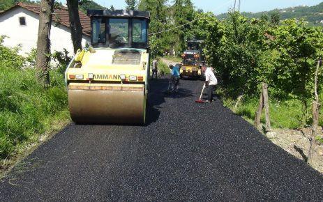 Büyükşehirden 2017 yılında yollara 298 bin ton asfalt