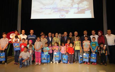 Büyükşehirden ihtiyaçlı çocuklara bayram hediyesi