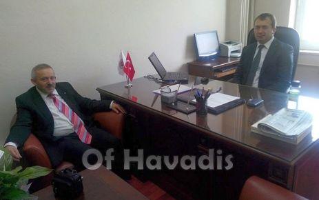 Çakır'dan Savcı Akgün'e ziyaret