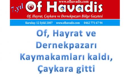 Çakıroğlu İstanbul'a, Saral Samsun'a