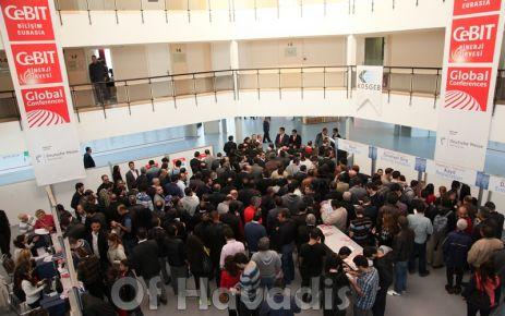 CeBIT Bilişim Eurasia Trabzon'da