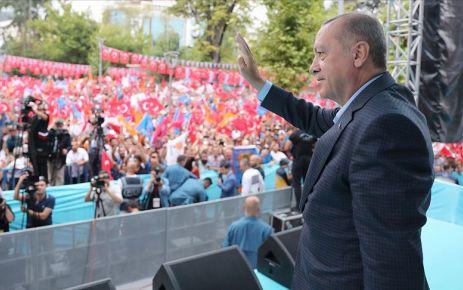 Cumhurbaşkanı Erdoğan'dan 216 proje için toplu açılış