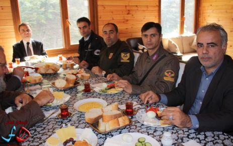 Dernekpazarı Jandarma kahvaltıda buluşturdu