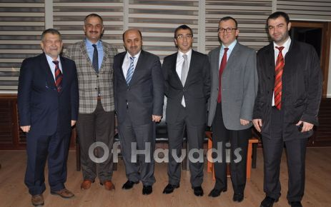 Döngeloğlu'ndan Başkan Saral'a ziyaret