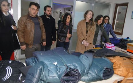 Eczacılar Odası'ndan Yakup Türköz öğrencilerine hediye