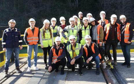 Enerji öğrencilerinden Kızılağaç HES'e ziyaret