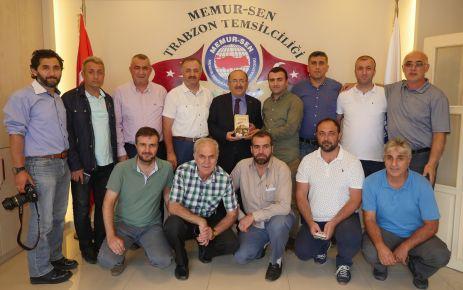 Gümrükçüoğlu'ndan Memur Sen'e ziyaret