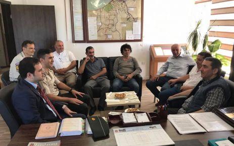 Hasan Küçükakyüz Paşa Of Jandarmayı ziyaret etti