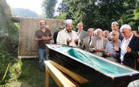 Hasan Tahsizn Ayazoğlu son yolculuğunda