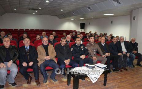 İkinci dönem Okul Güvenliği toplantısı yapıldı