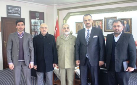 İran Başkonsolos'u Başkan Saral'ı ziyaret etti