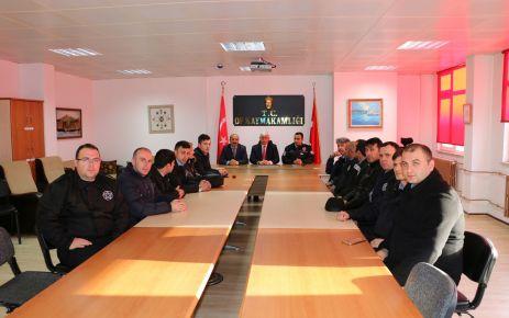 İŞKUR Okul Güvenlik Görevlileri ile toplantı