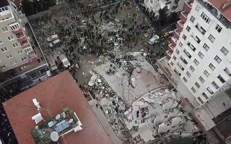 İstanbul'da çöken binada Alemdar ailesini yasa boğdu