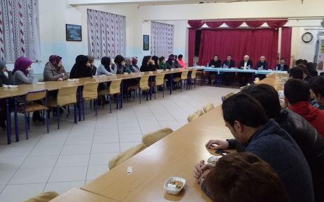 Kabahasanoğlu'ndan Solaklı Fen Lisesine moral ziyareti