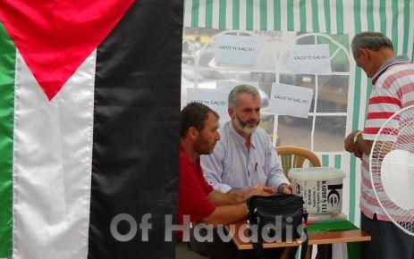 Kardeş Eli Derneği'nden Gazze'ye yardım