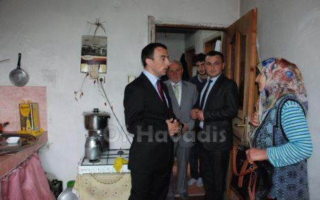 Kaymakam Arslan Serince ziyaretinde muhtarlara çağrı yaptı