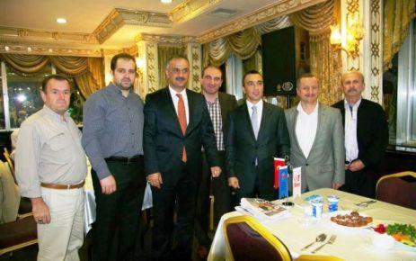 Kaymakam Arslan ve Başkan Saral Oflularla buluştu