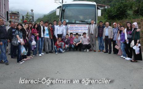 Kaymakam Canpolat'tan öğrencilere Çanakkale gezisi