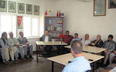Kaymakam Erkovan Köy ziyaretlerine başladı