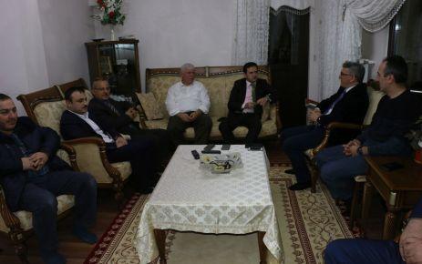 Kaymakam Fırat ve Kent Konseyi'nden Kabahasanoğlu'na ziyaret