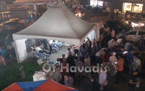 Kızılay Kadir Gecesi'nde Oflulardan kan bağışı topladı