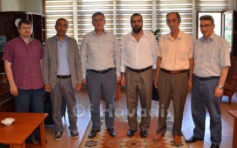 Memur Sen Of Temsilcilerinden Başkan Sarıalioğlu'na ziyaret