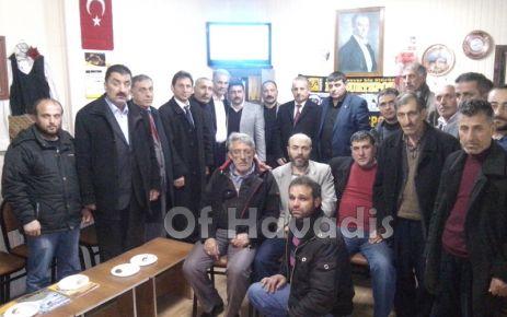 MHP'li Çakıroğlu'ndan Bayburt ve Çaykara Derneklerine ziyaret