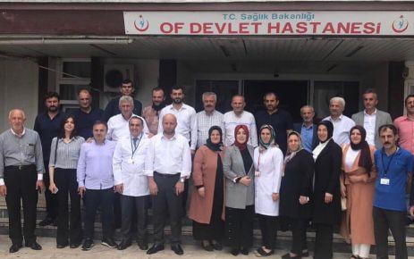 Milletvekili Ayvazoğlu Of'ta kurum ve vatandaşları ziyaret etti