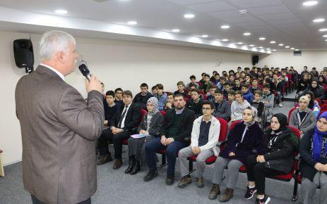 Müdür Kabahasanoğlu Şehit Necmi Çakır Anadolu Lisesi'nde