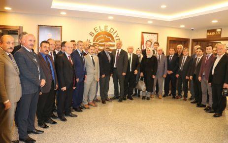 Müdürlerden Başkan Sarıalioğlu'na hayırlı olsun ziyareti