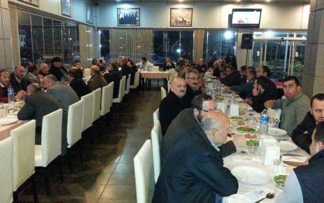 Muhtar Hacımurtezaoğlu Dumlusu'yu yemekte buluşturdu