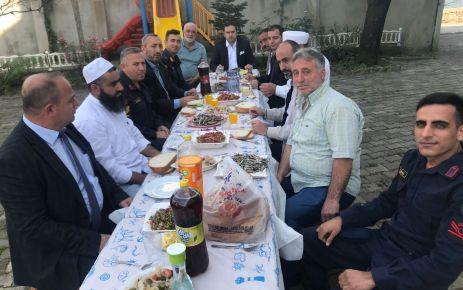 Muhtar Hacımustafaoğlu Of'u buluşturdu