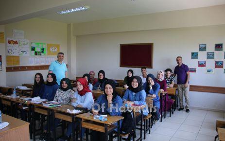 Of Anadolu Lisesi yeni sezona erken başladı