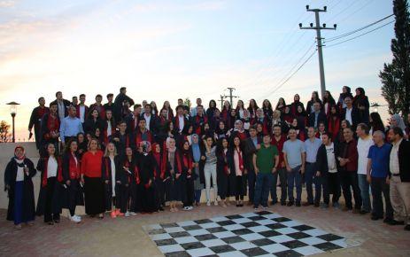 Of Anadolu Lisesinde iftarlı mezuniyet töreni