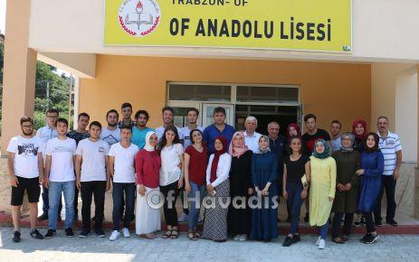 Of Anadolu Lisesi'nde son güne kadar eğitim