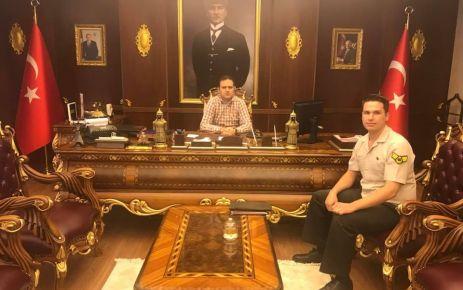 Of Askerlik Şubesi Başkanlığına Özkan Göç atandı