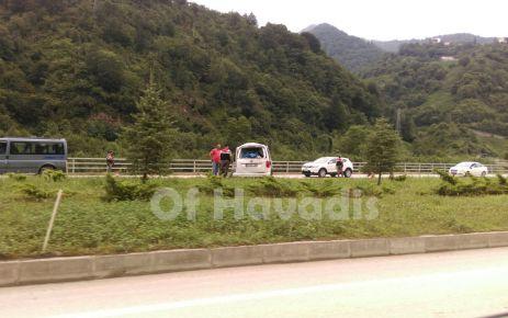 Büyükşehir Belediyesi otobüsü kaza yaptı 5 yaralı