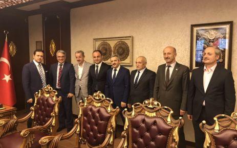 Of EBS'den Kaymakam Fırat ve Başkan Terzioğlu'na ziyaret