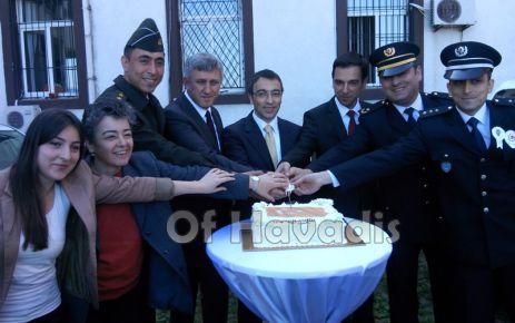 Of Emniyeti Polis Haftasını kokteylle kutladı