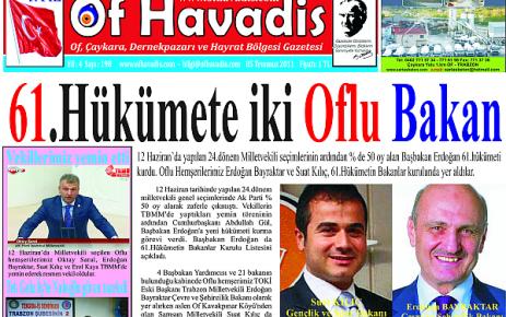 Of Havadis 198.sayı yayında